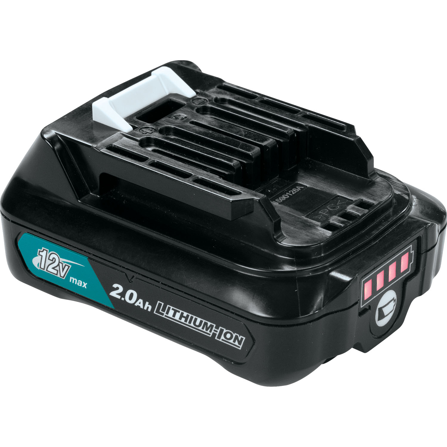 makita 12v max cxt lithium ion 2 0ah battery. Black Bedroom Furniture Sets. Home Design Ideas