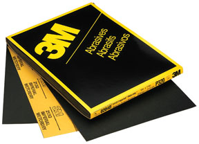 """3M Company Imperial™ Wetordry™ Sheet 02037, 9"""" x 11"""", P500A, 50 sheets/sleeve"""