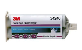 3M Company Semi-Rigid Plastic Repair, 50 mL