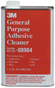 3M Company General Purpose Adhesive Cleaner 08984, Quart