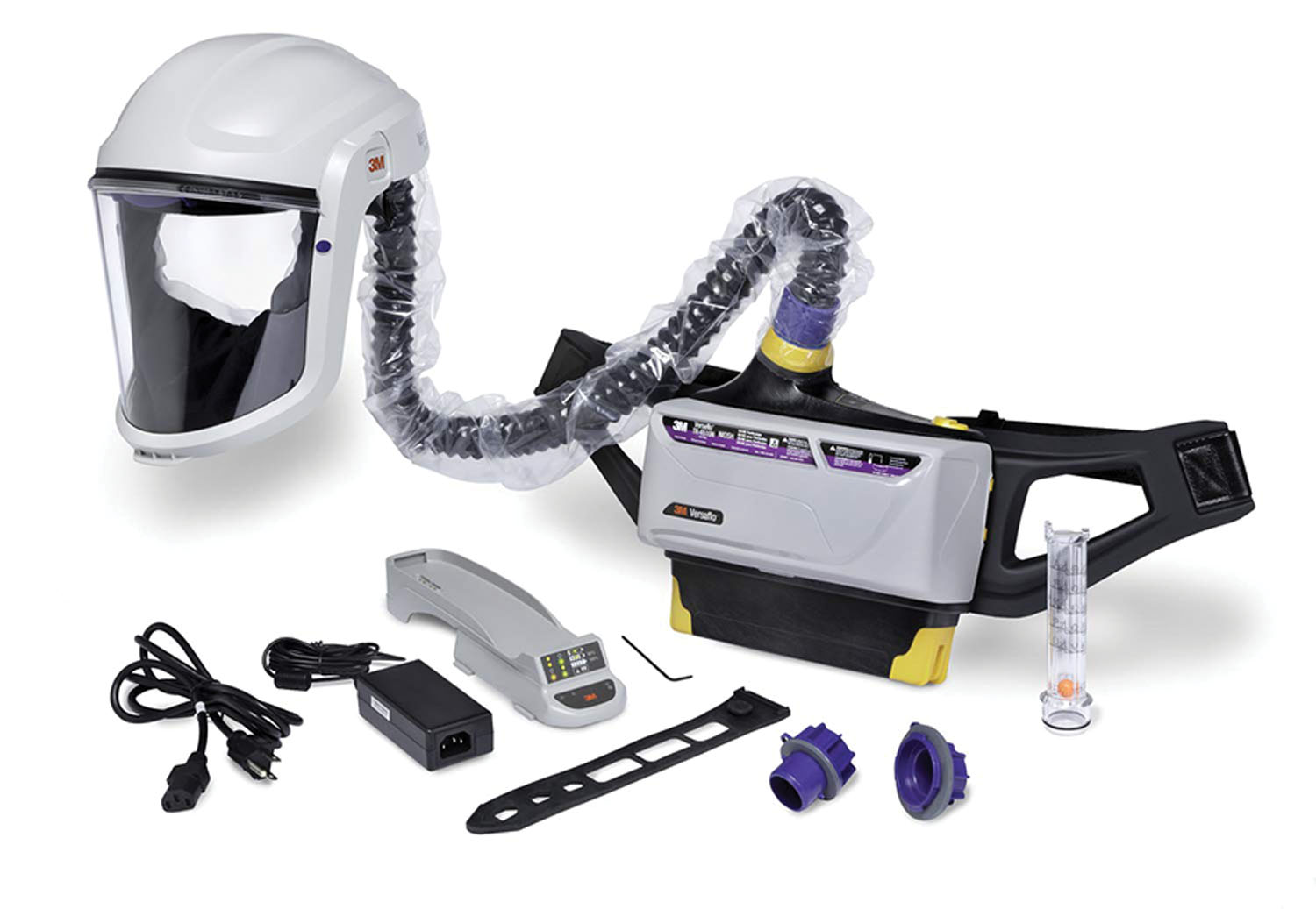 3M Company Versaflo™ Powered Air Purifying Respirator Painters Kit TR-800-PSK/94248(AAD), 1 EA/Case