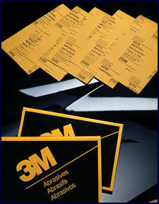 """3M Company Imperial™ Wetordry™ Sheet 02020, 9"""" x 11"""", 2000A, 50 sheets/sleeve"""