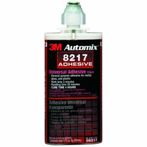 3M Company Automix™ Universal Adhesive 08217 Clear, 200 mL Cartridge, 6/cs