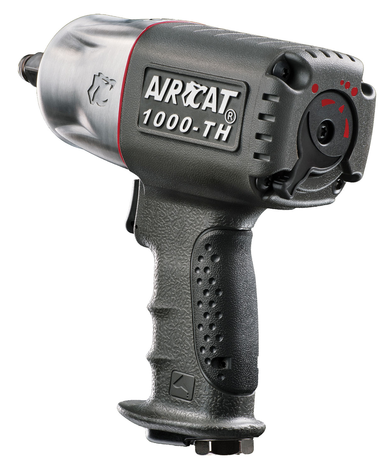 """AIRCAT 1/2"""" Twin Hammer Composite Air Impact Wrench"""