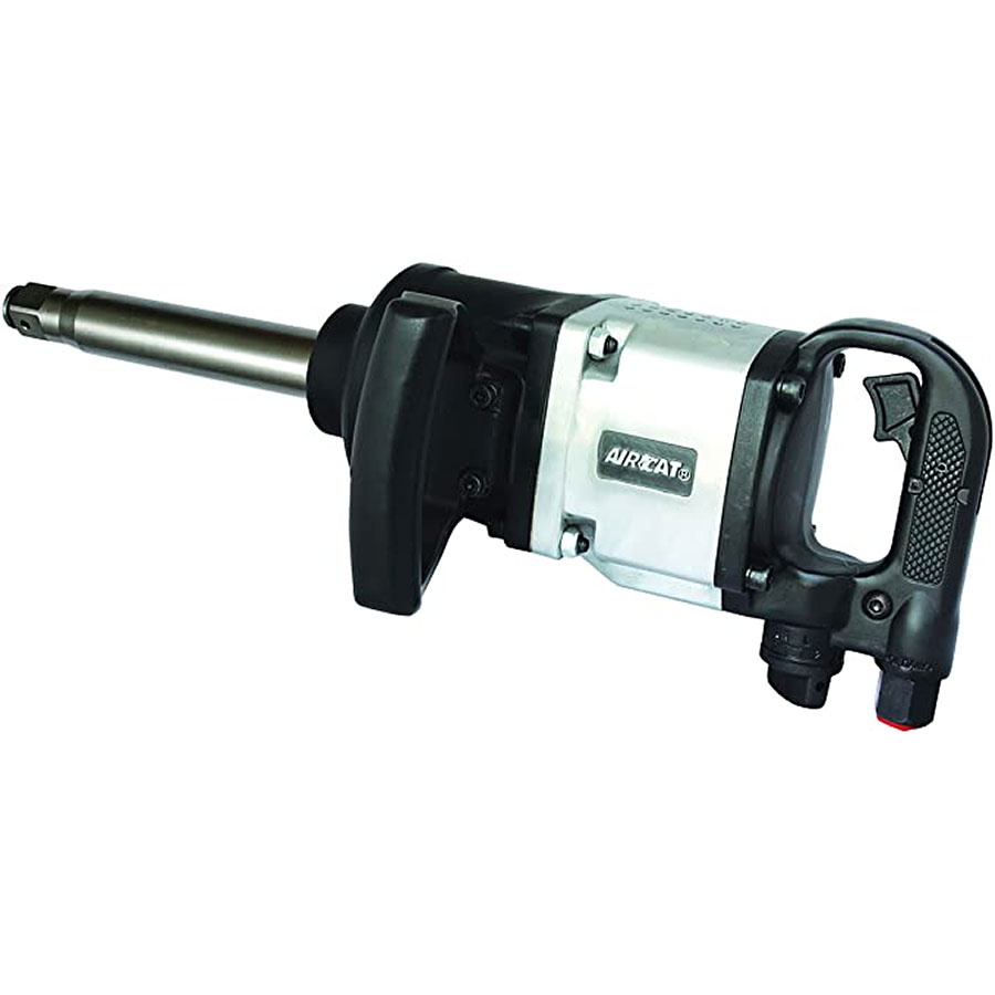 """AIRCAT 1"""" IMPACT WRENCH WITH 8"""" EXTENDED ANVIL"""