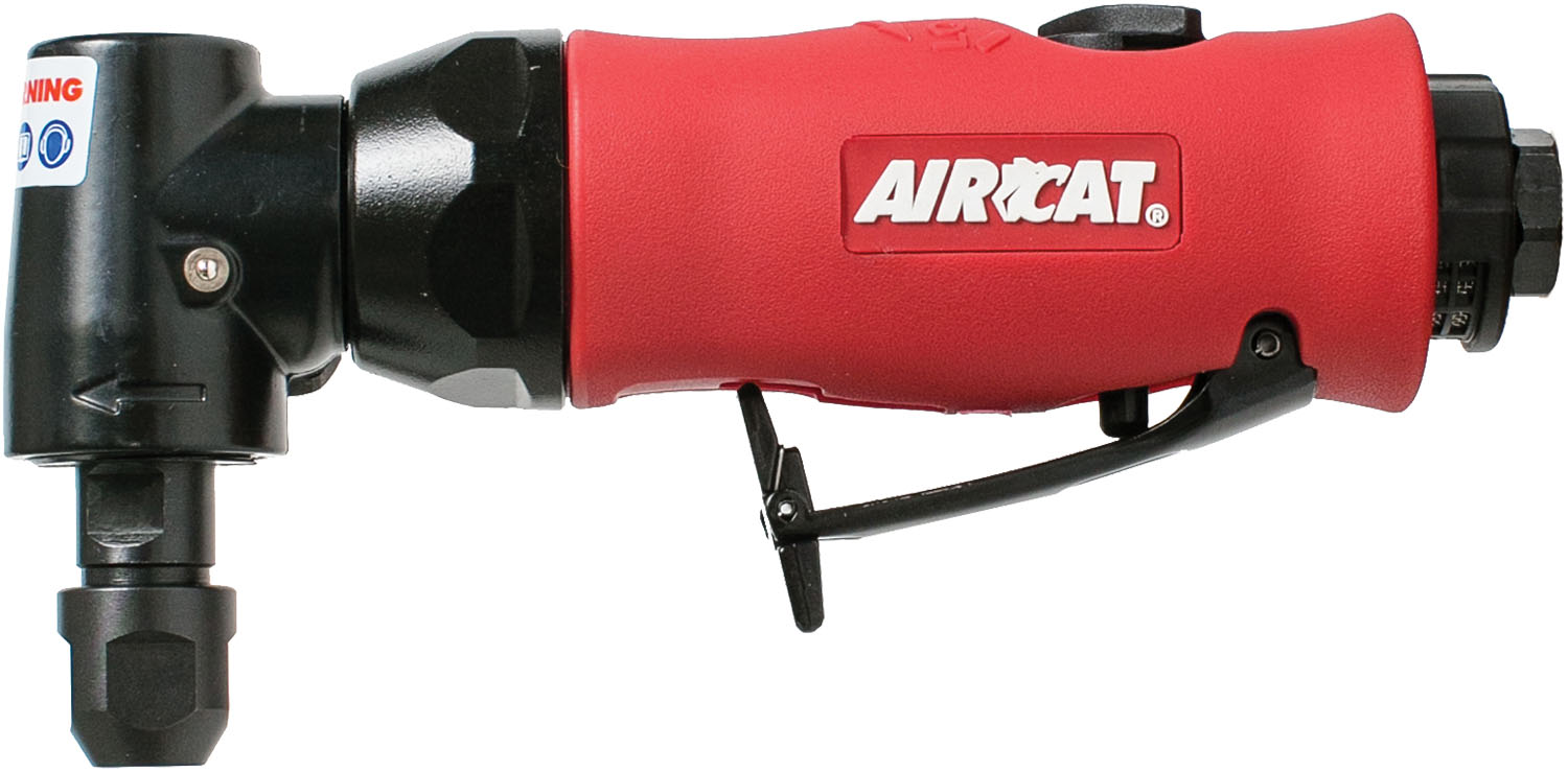 AIRCAT .75 HP Angle Die Grinder with Spindle Lock
