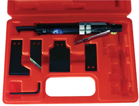 Astro Pneumatic Air Scraper Kit with  4 Specialty Blades