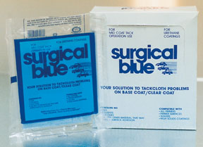 Crystal Surgical Blue® Tack Cloth, 12-pk