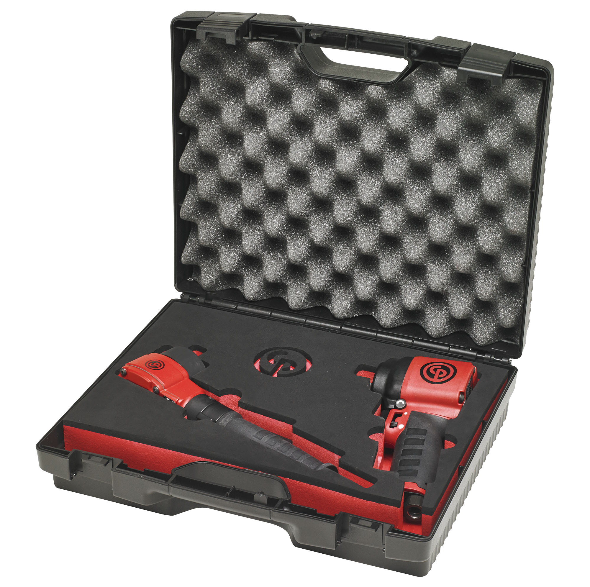 """Chicago Pneumatic 1/2"""" Angle Impact Wrench with 1/2"""" Stubby Composite Impact Wrench"""