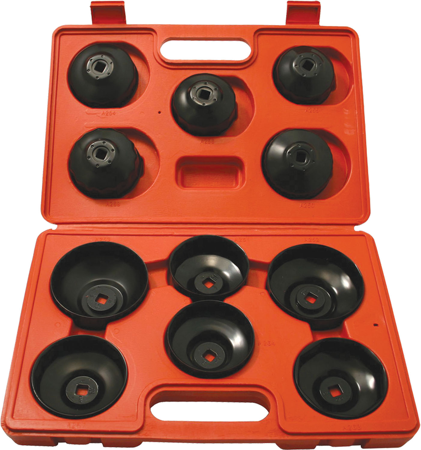 CTA Manufacturing Corporation 11 Piece Cup Type  Oil Filter Wrench Set