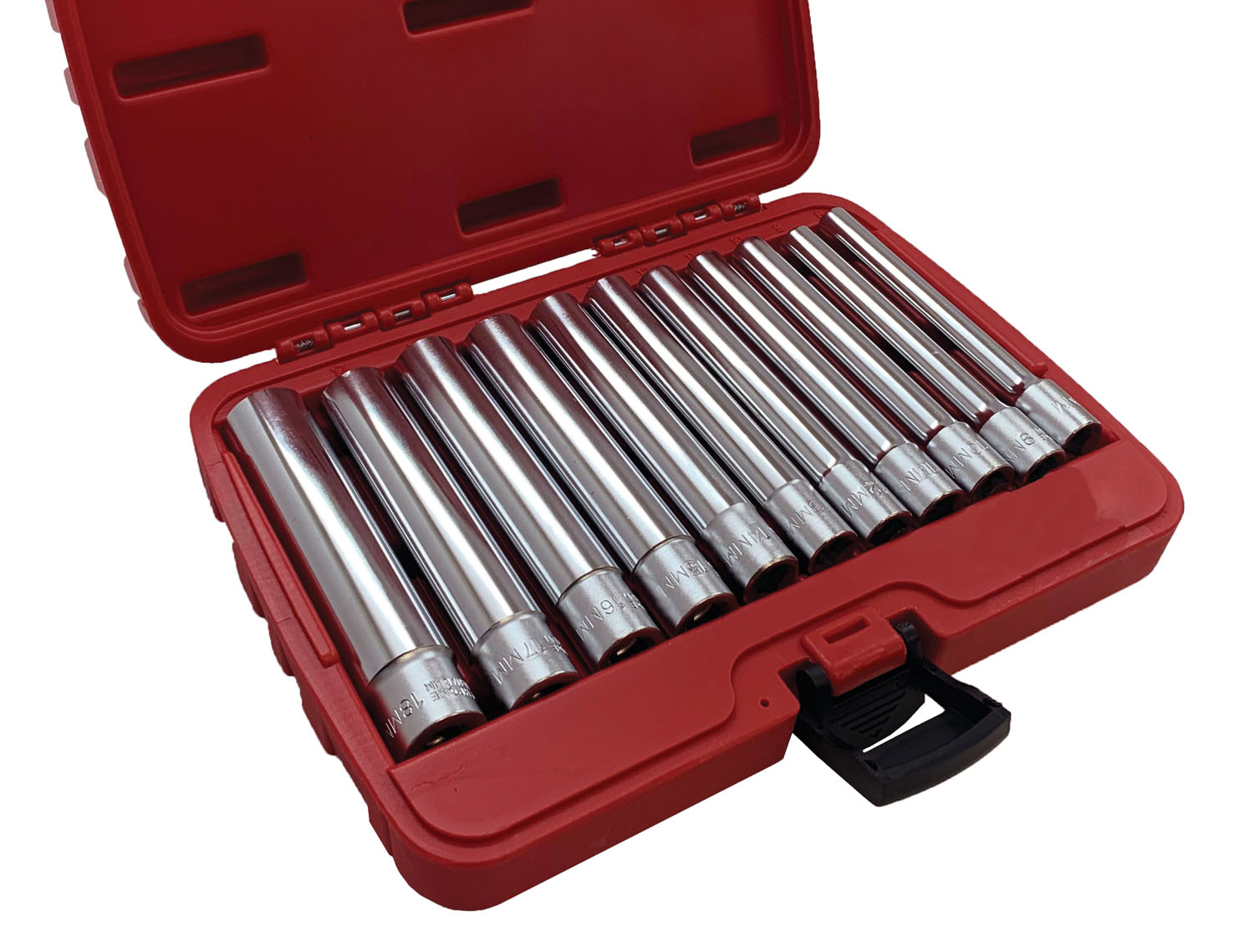 CTA Manufacturing Corporation 11 Pc. Deep Metric Socket Set