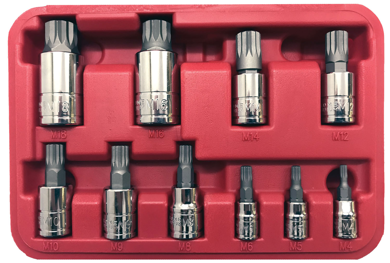 CTA Manufacturing Corporation 10 Pc. XZN Socket Set