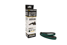 "Drill Doctor P80 Extra-Coarse Grit Assirtnebt Belt Kit, 1/2"" x 12"""