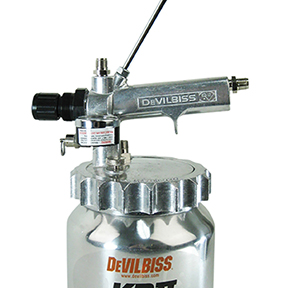 DeVilbiss 2 Qt Pressure Feed Cup