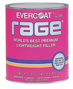 Fibre-Glass Evercoat Rage® Premium Lightweight Body Filler, 3-Gallon Mech.