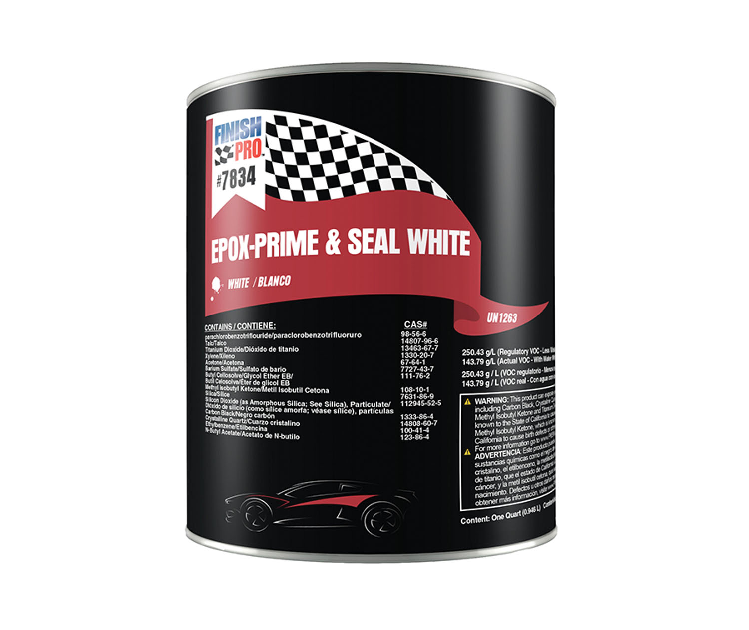 Finish Pro EPOX-PRIME & SEAL WHITE QT
