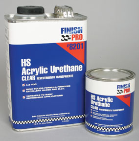 Finish Pro Hs Acrylic Urethane Clear Quart