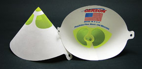 Gerson Synthetic Strainers, 190 micron, Yellow