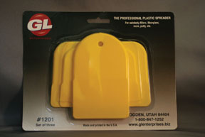 GL Enterprises Plastic Auto Body Spreaders, 1 Standard, 1 Large, 1 Giant