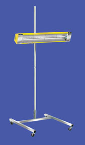 Infratech SRU-1615 120V Medium Wave System Portable Infrared Curing Lamp with One Head