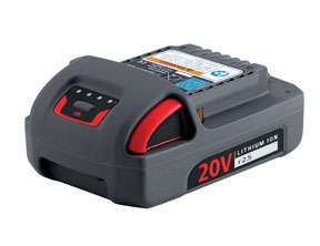 Ingersoll Rand 20V IQV20 Series 2.5Ah Lithium-Ion Battery