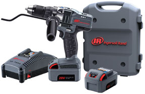"""Ingersoll Rand 1/2"""" 20V Cordless Drill Driver Two Battery Kit"""