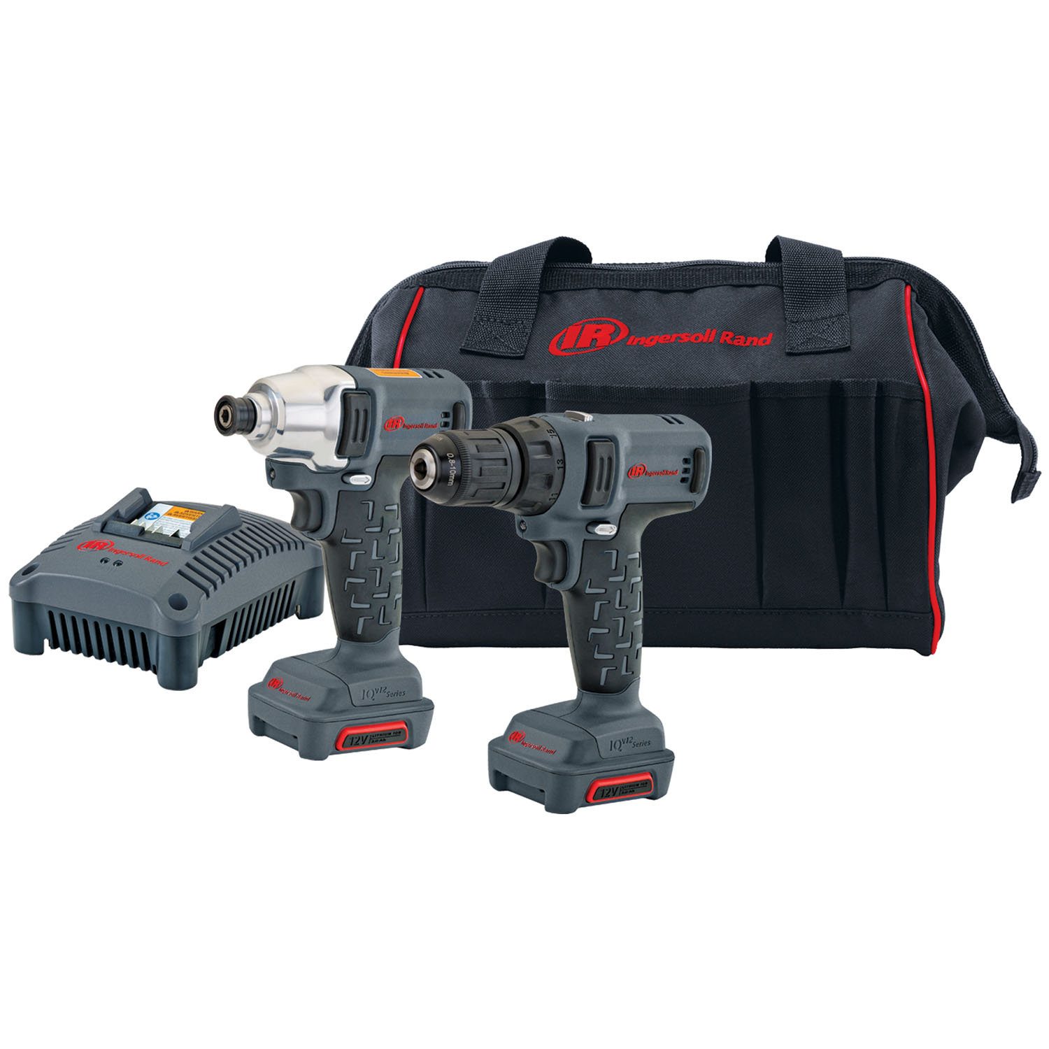Ingersoll Rand 12V Cordless Impact Driver and Drill Driver Combo Kit