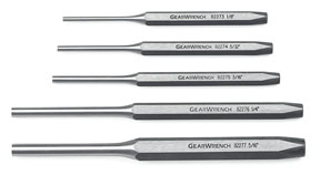 GearWrench 5 Pc. Pin Punch Set