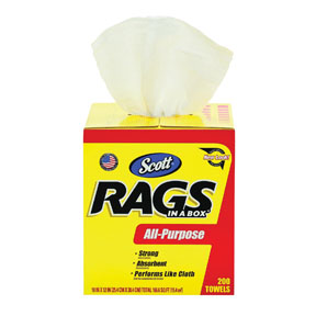 Kimberly-Clark Scott® Rags in a Box