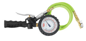 """Legacy Manufacturing Company 1/4"""" Tire Inflator with Flexzilla® Hose"""