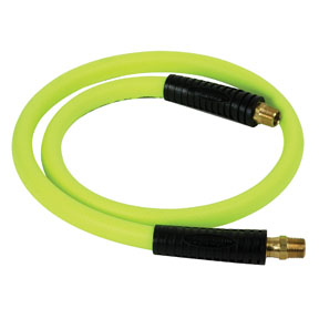 "Legacy Manufacturing Company 1/2"" x 4' Flexzilla® ZillaGreen™ Ball Swivel Whip Hose"