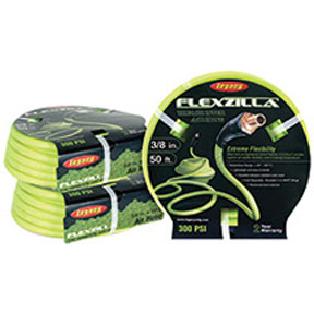 """Legacy Manufacturing Company 1/2"""" X 50' Flexzilla® ZillaGreen™ Air Hose with 3/8"""" Ends"""