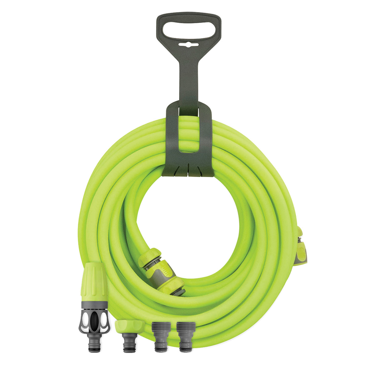 "Legacy Manufacturing Company Flexzilla® Garden Hose Kit with Quick Connect Attachments, 1/2"" x 50'"