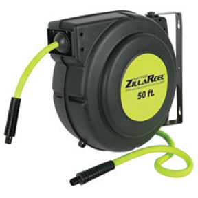 "Legacy Manufacturing Company 3/8"" x 50' ZillaReel™ Retractable Enclosed Air Hose Reel"