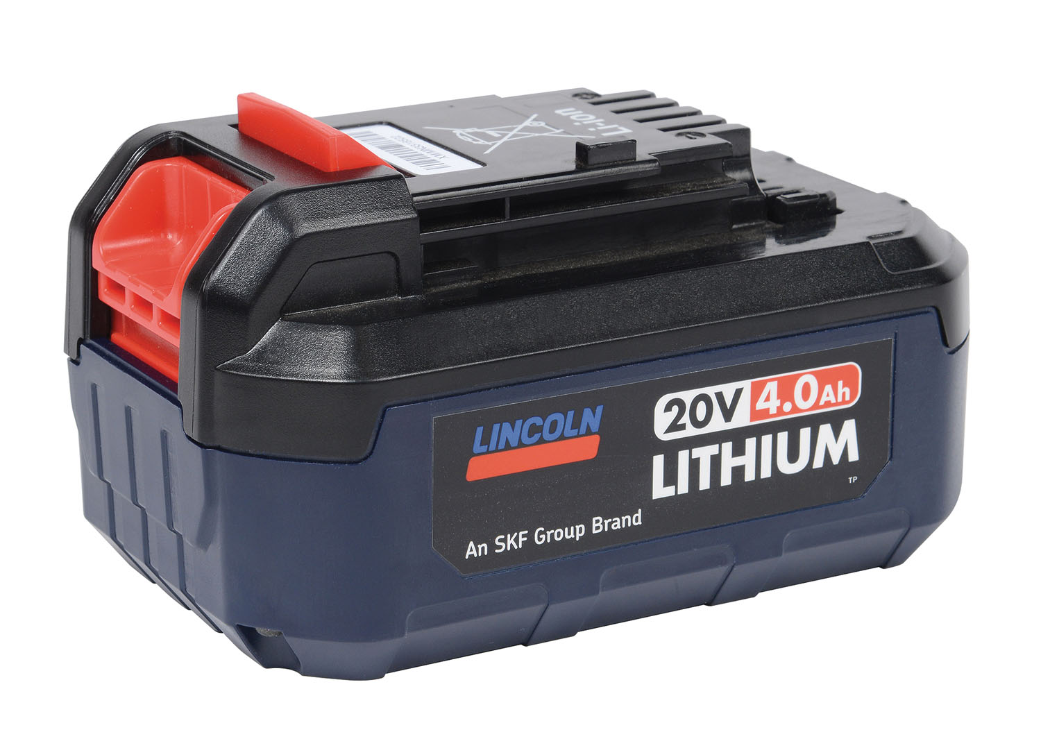 Lincoln Industrial 20V 4.0 Ah Lithium-Ion Rechargeable Battery