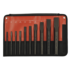 Mayhew Tools 10 PIECE COLD CHISEL SET 61510