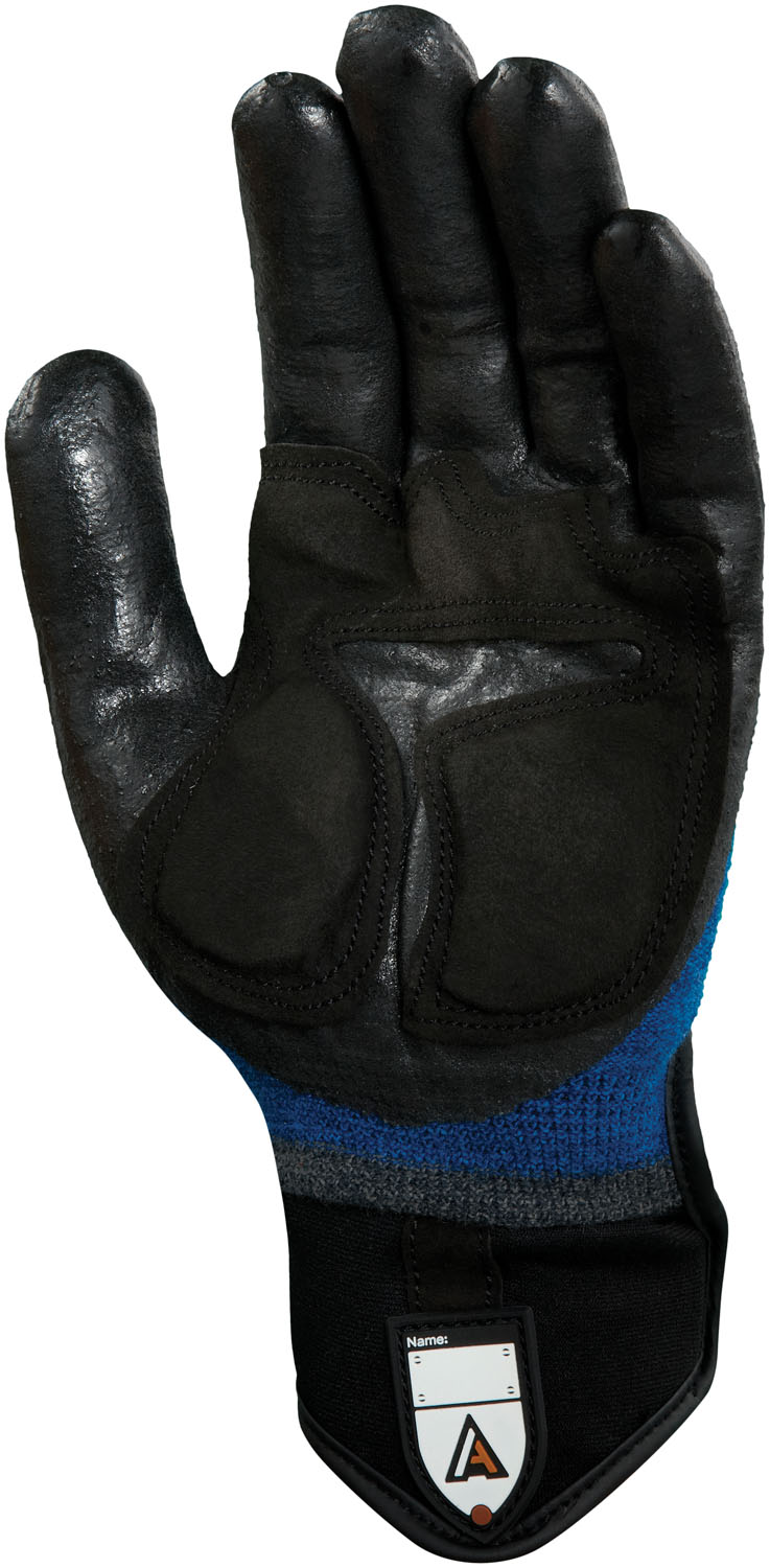 Microflex ActivArmr 97-003 Heavy Duty Laborer Glove with Dupont Kevlar, XLarge