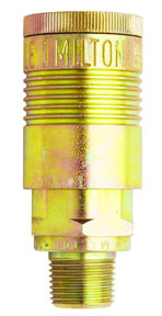 "Milton Industries ""G"" Style, 3/8 Male NPT Coupler"