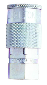"Milton Industries ""H"" Style 1/4"" NPT Female Coupler"