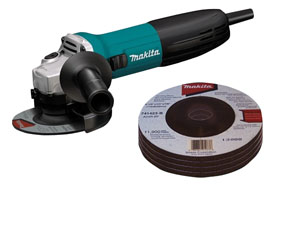 Makita 4-1/2 in. Slide Switch Angle Grinder