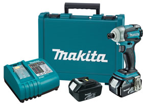 Makita 18V Cordless LXT Lithium-Ion Quick-Shift 3-Speed Impact Driver