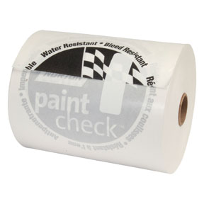 "Norton 6"" x 750"" Corona-Treated Polycoated White ""Paint Check"" Masking Paper"