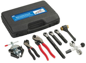 OTC Tools & Equipment 8 Pc. Battery Terminal Service Kit
