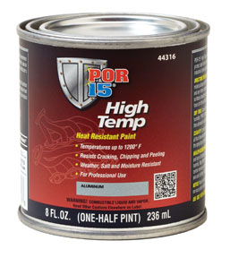 POR-15 High Temp, Aluminum, 8 oz.