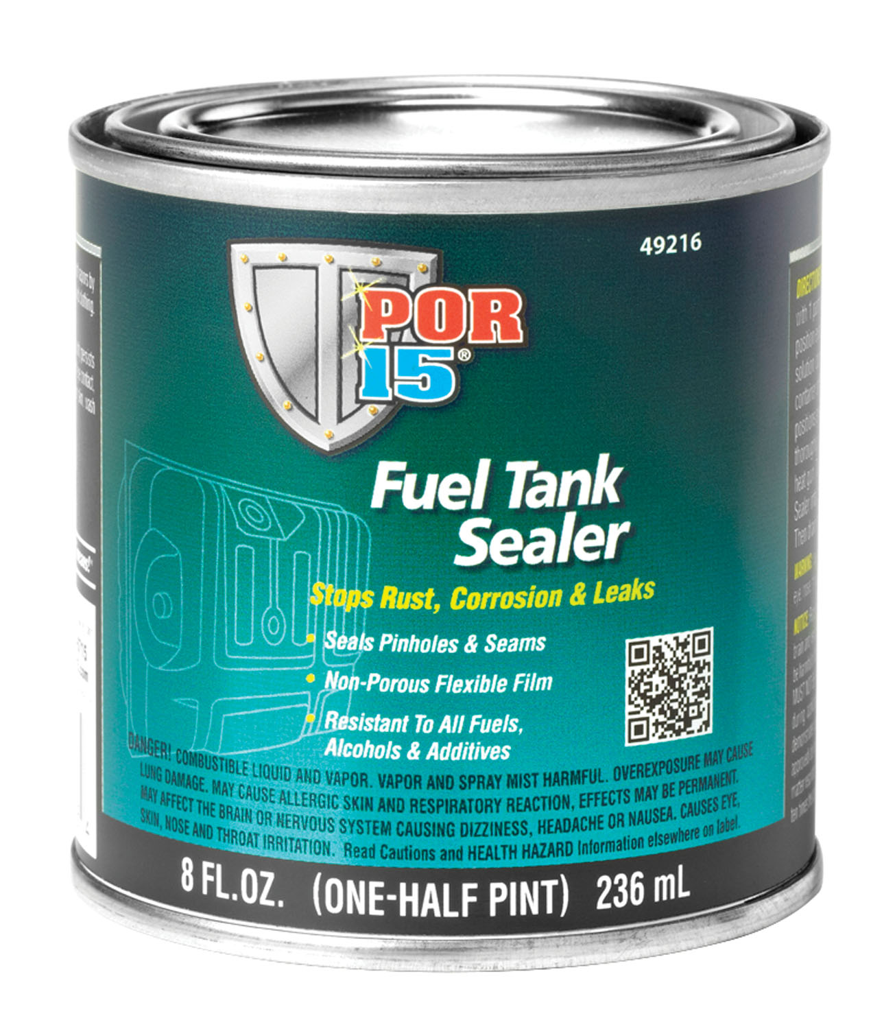 POR-15 Fuel Tank Sealer, 8 oz.