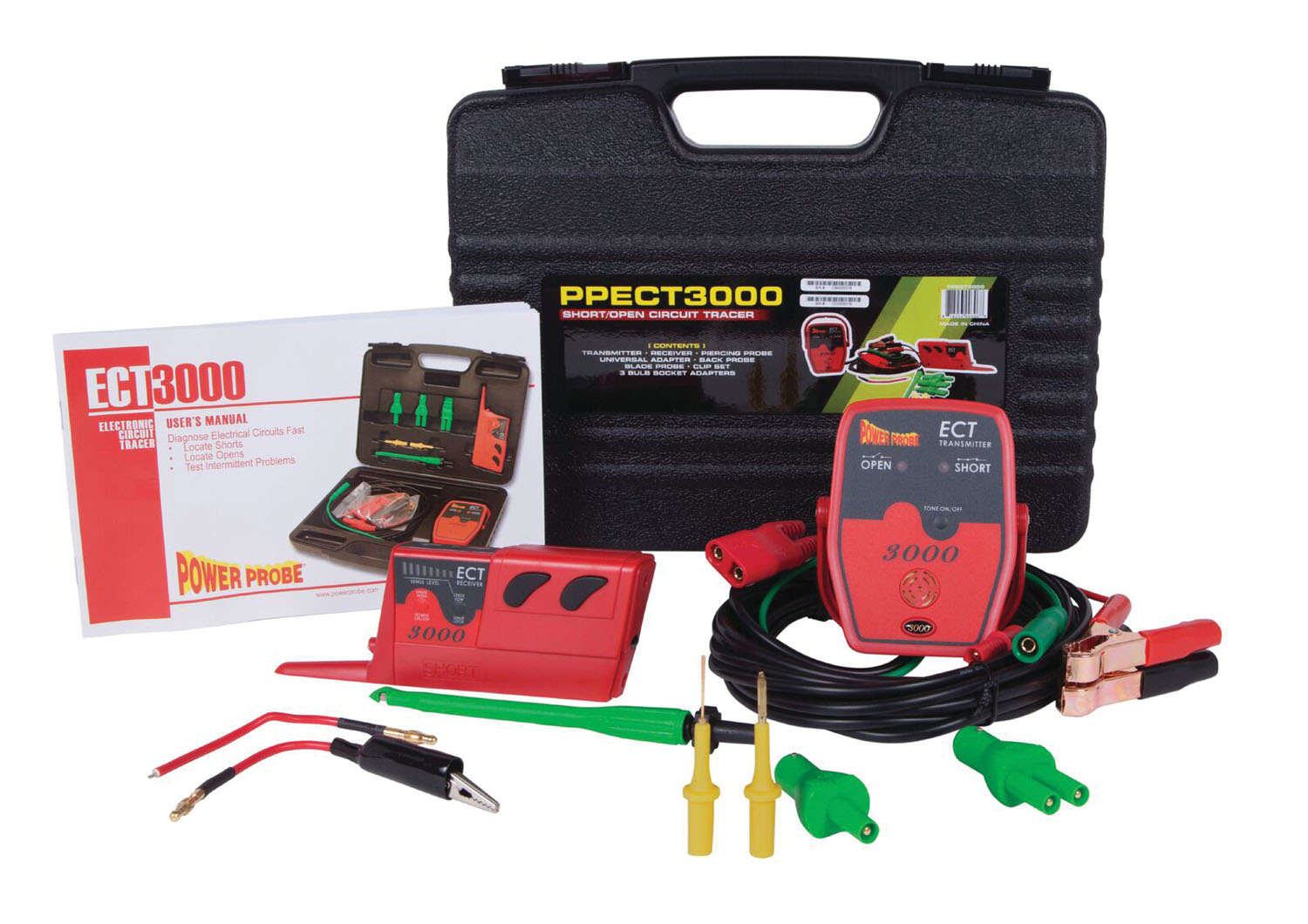 Electrical Tester For Shorts : Power probe ect short open electrical circuit tester