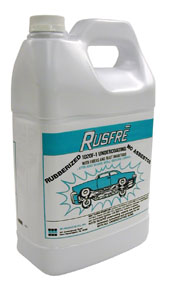 RUSFRE Automotive Spray-On Rubberized Undercoating Material, 1-Gallon