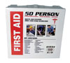 SAS Safety 50-Person First Aid Kit with Metal Case