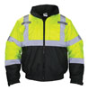 SAS Safety Hi-Viz Class 3 Hooded Bomber Jacket, Yellow, XL