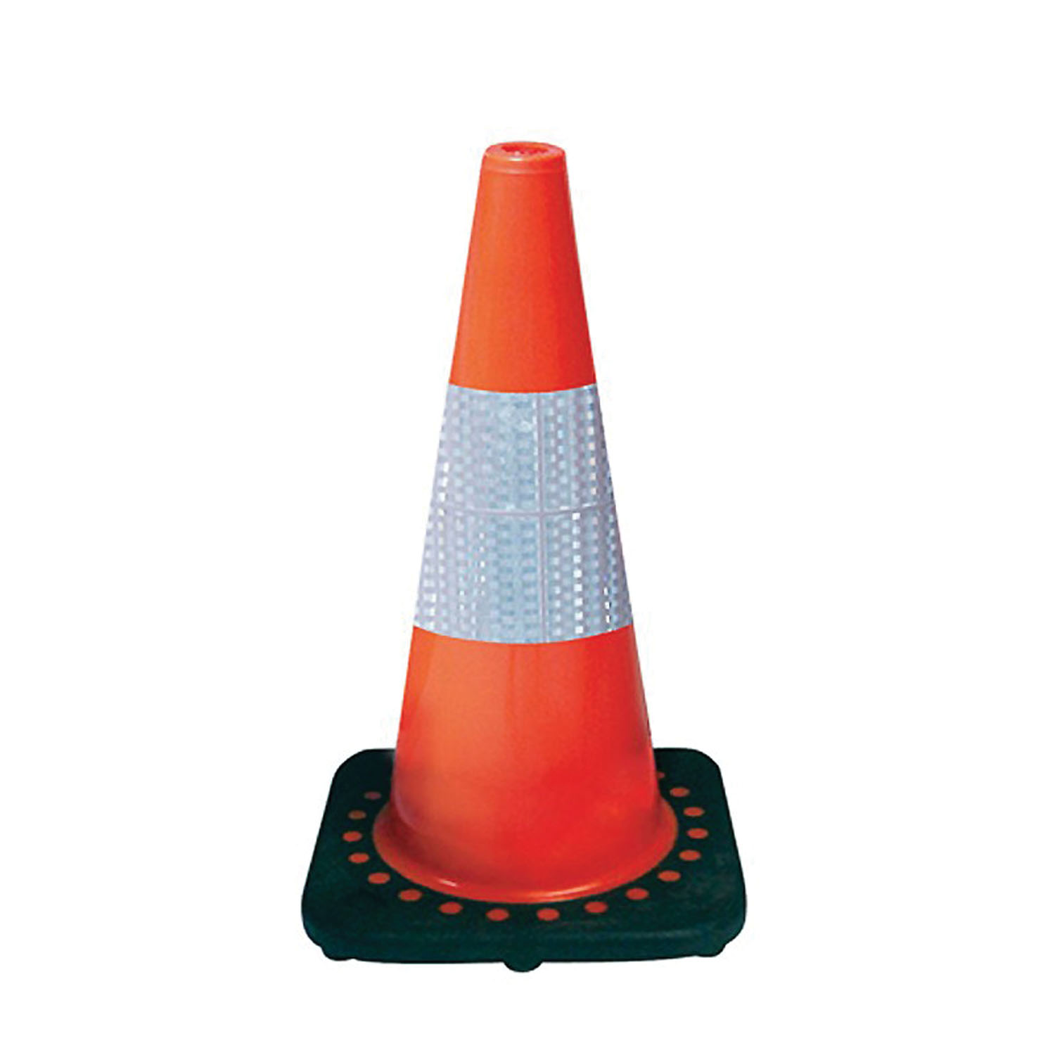 """SAS Safety 18"""" Safety Cone with Reflective Bar"""